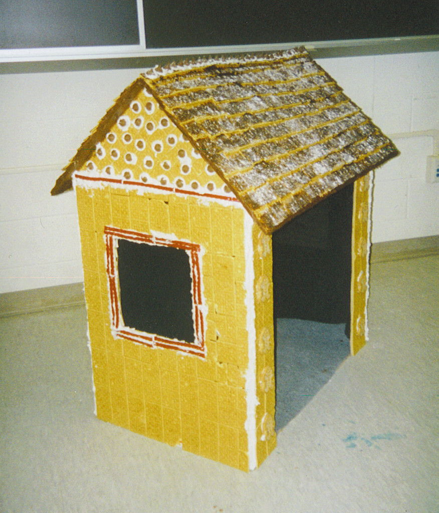 Gingerbread House Side View